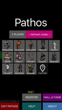 Pathos: Nethack Codex poster