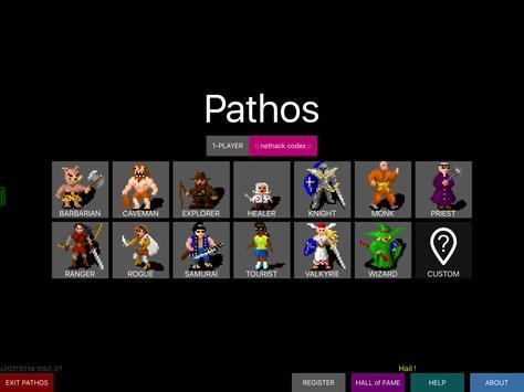 Pathos: Nethack Codex apk screenshot