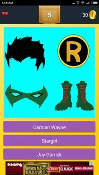Iconic Superhero Quiz apk screenshot