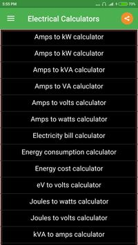 Electrical calculator apk download free tools app for android electrical calculator poster electrical calculator apk screenshot greentooth Gallery