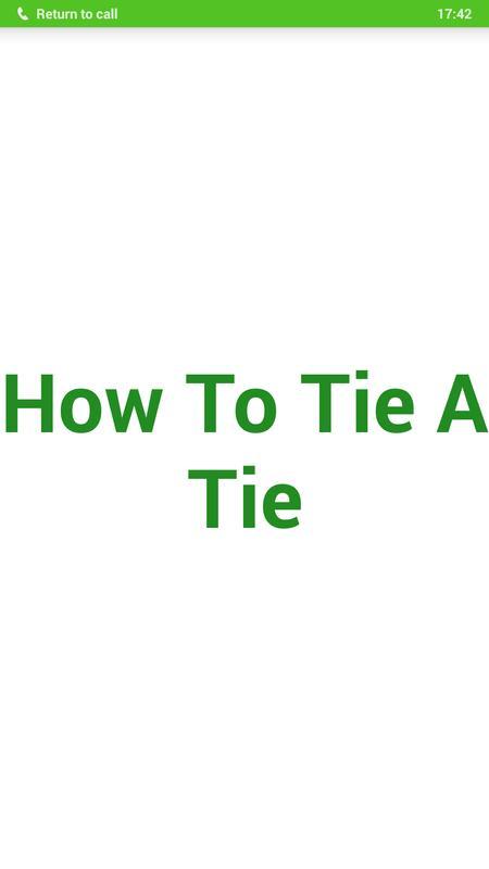 Tie a tie apk baixar grtis estilo de vida aplicativo para android tie a tie cartaz ccuart Image collections