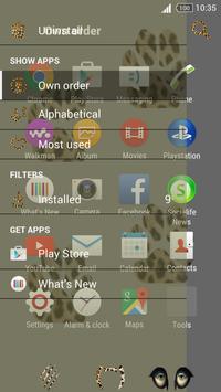Theme Leopard screenshot 3