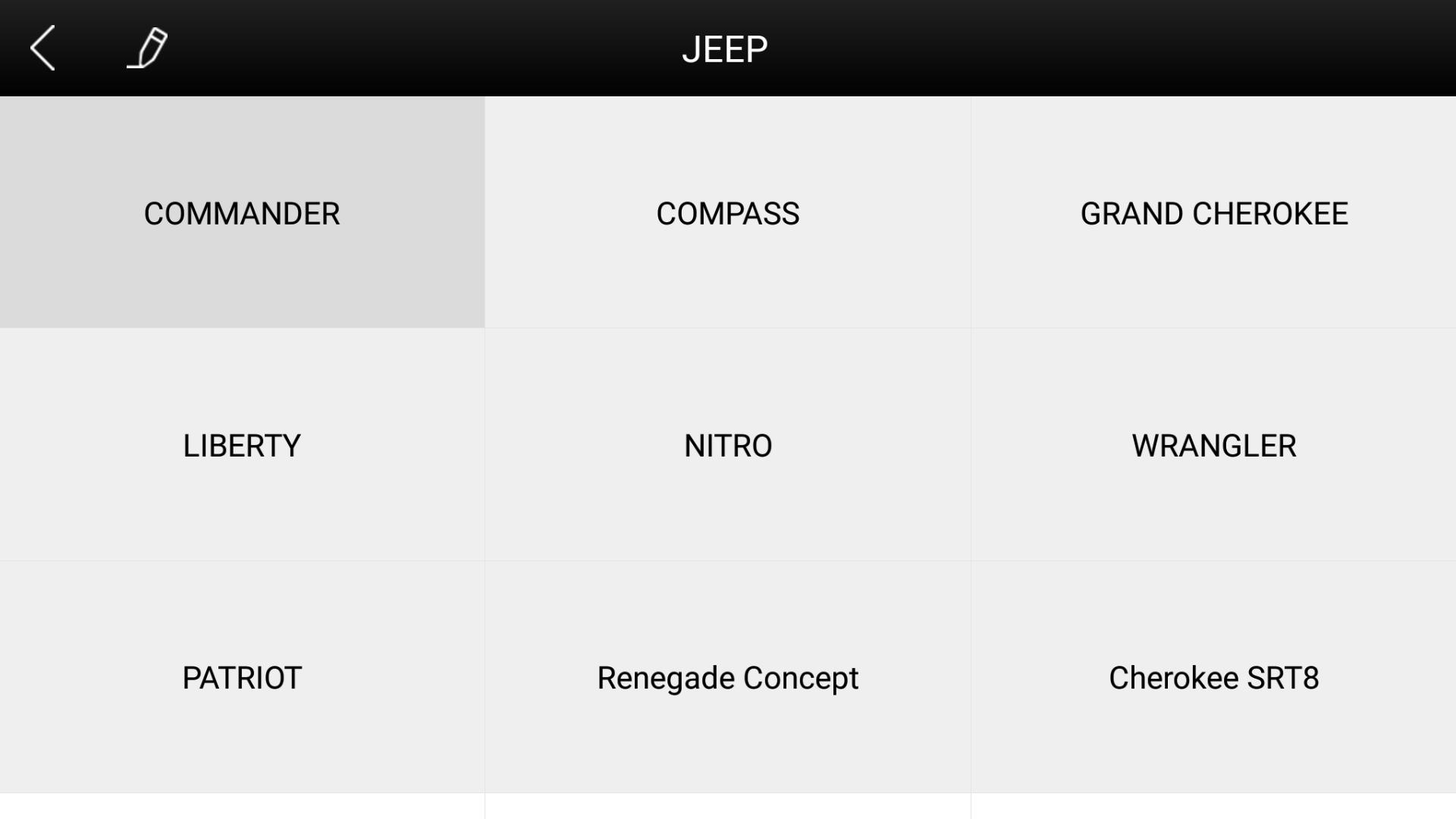Jeep Diagnostic Tool poster