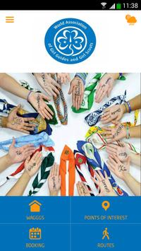 World Assoc.Girl Guides/Scouts poster