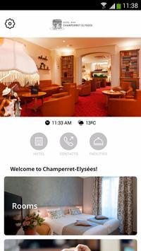 Hôtel Champerret-Elysées poster