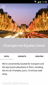 Hôtel Champerret-Elysées apk screenshot