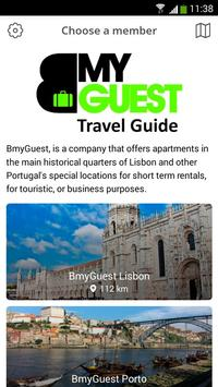 BmyGuest Travel Guide poster