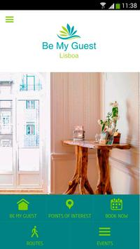 Be My Guest Lisboa poster