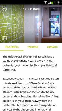 Hola Hostal apk screenshot