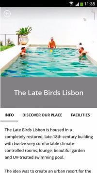 The Late Birds Lisbon apk screenshot