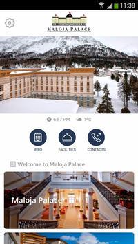 Maloja Palace Hotel poster