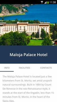 Maloja Palace Hotel screenshot 1