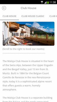 Maloja Palace Hotel screenshot 2