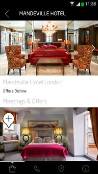 Mandeville Hotel London apk screenshot