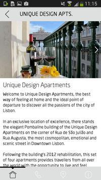 Unique Design Apartments apk screenshot
