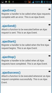 jQuery API Documentation screenshot 2