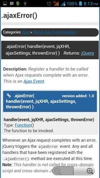 jQuery API Documentation screenshot 3