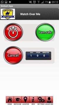 Smhart Panic App screenshot 4