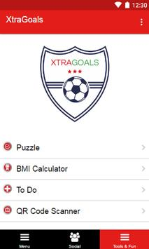 XtraGoals apk screenshot