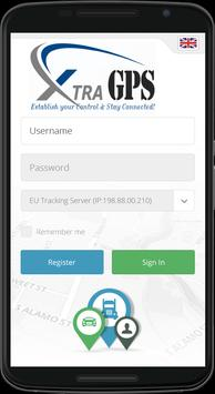 XtraGPS Client apk screenshot