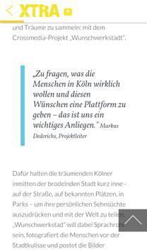 XTRA - Deine App für Köln apk screenshot