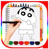 😘Learn Drawing: Shin Chan icon