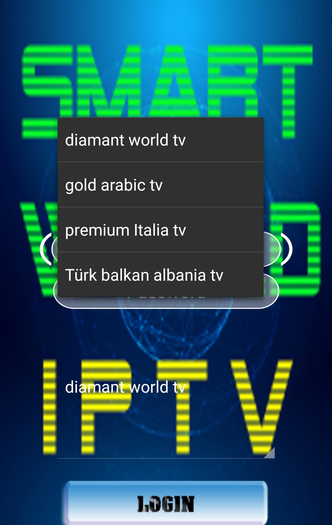 smart world iptv app riso for Android - APK Download