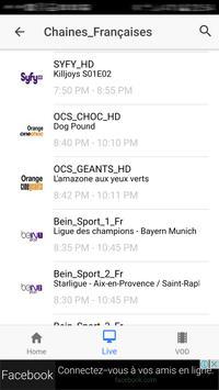 Xtream IPTV Player screenshot 3