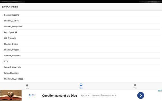 Xtream IPTV Player screenshot 12