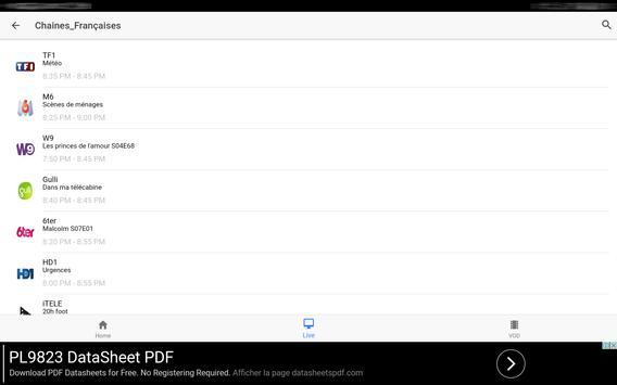 Xtream IPTV Player screenshot 9