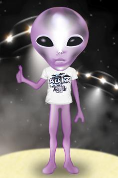 Creepy Alien Live Wallpaper Poster