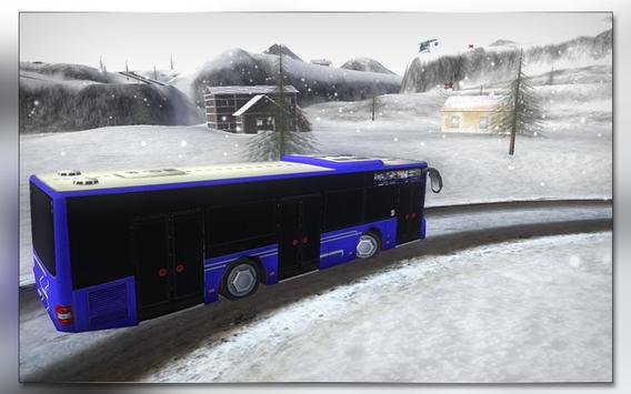 Snow Bus Driver poster