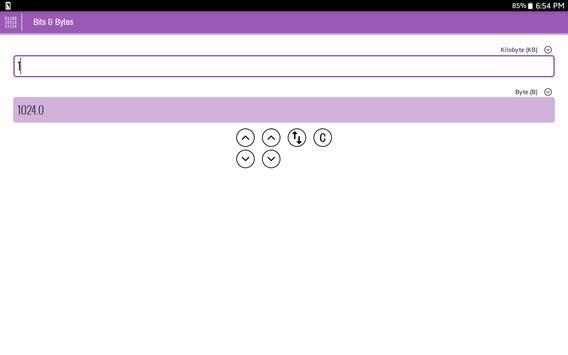 R Unit Converter apk screenshot