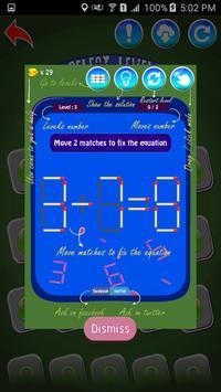 Matches Maths Puzzle screenshot 14