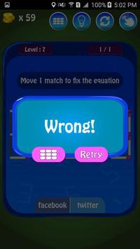 Matches Maths Puzzle screenshot 18