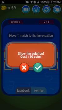 Matches Maths Puzzle screenshot 19
