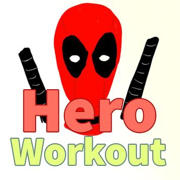 Superhero Workout poster