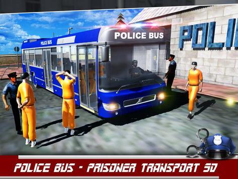 Police Bus Prisoner Transport poster