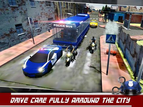 Police Bus Prisoner Transport apk screenshot