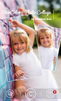BlurColor - Blur Photo Collage poster
