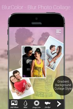 BlurColor - Blur Photo Collage apk screenshot
