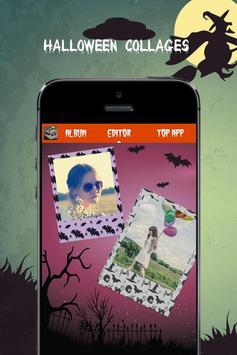 Halloween photo collage apk screenshot