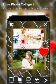 Love photo collage 2 apk screenshot