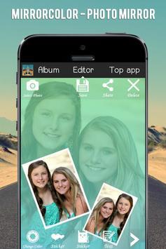 MirrorColor - Photo Mirror apk screenshot