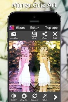 Mirror Grid Art apk screenshot