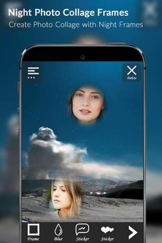 Night Photo Collage Frames apk screenshot