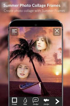 Summer photo collage frames apk screenshot