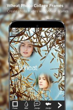 Wheat Photo Collage Frames apk screenshot