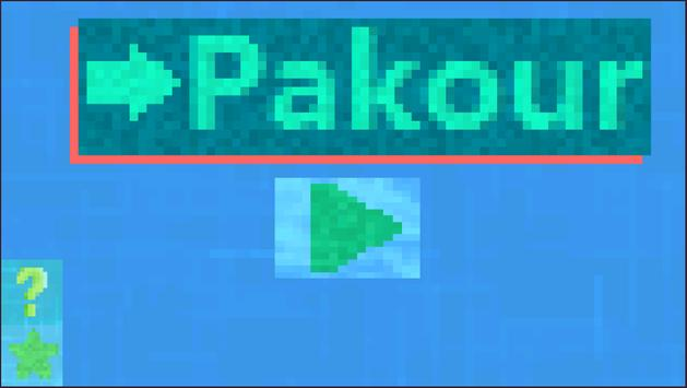 This is Pakour poster