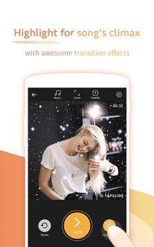 Music Video Maker with FX, Video Editor–TapSlide apk screenshot